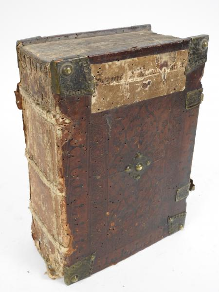 [INCUNABLE] Registrum aphabetico ordine collectus in sermones de tempore et de [...]