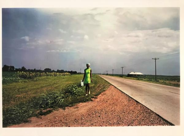William EGGLESTON (Né en 1939)  - Near Glendora, Mississippi, 1970  - Tirage couleur [...]