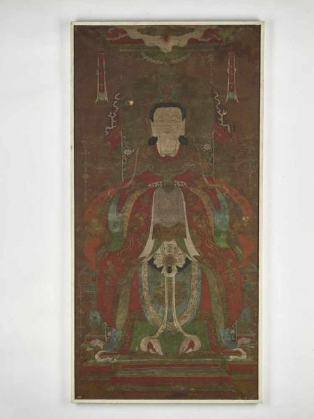 A BODHISATTVA ON A THRONE, MING DYNASTY China, late 16th – mid-17th century. Ink [...]