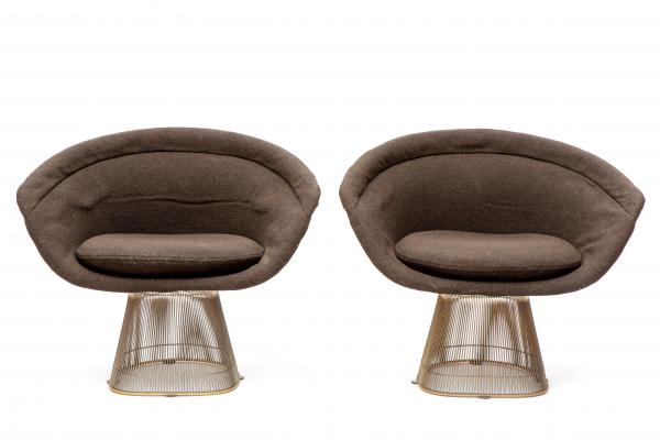 Warren Platner (1919-2006) for Knoll A pair of