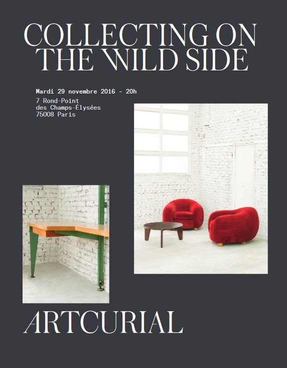 Vente Collecting on the Wild Side Design : une collection américaine chez Artcurial : 82 lots