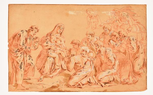 (Dutch school) - Circle of FLINCK, Govert. After GIULIO ROMANO and RAPHAEL The [...]