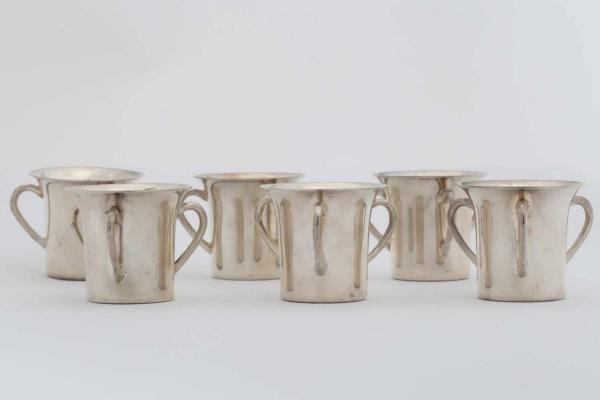 SILVER CUP SET