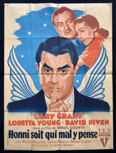 HONNI SOIT QUI MAL Y PENSE Henry Koster - 1941 Avec Cary Grant, Loretta Young et [...]