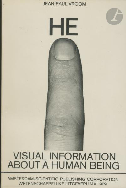 VROOM, JEAN-PAUL (1922-2006)  - HE Visual information about a human being.  - 1969.  [...]