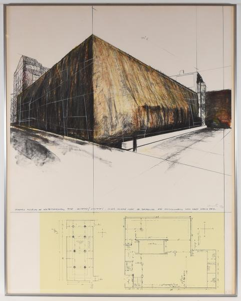 - CHRISTO Wrapped museum of contemporary art - Chicago (project) [...]. [1969] [...]