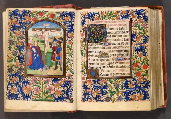 (Book of Hours - Bruges) - Horae. Use of Rome. [Bruges, third quarter of the XVth c.] [...]