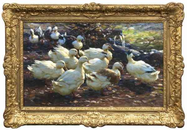 Koester, Alexander(Bergneustadt 1864 - München 1932)Ten DucksPossibly before 1905, [...]