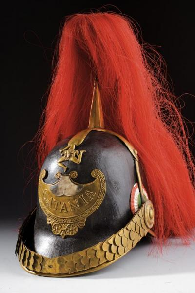 A Catania Civic Guard's helmet - dating: 1848 - 1849 provenance: Interim Goverment of [...]