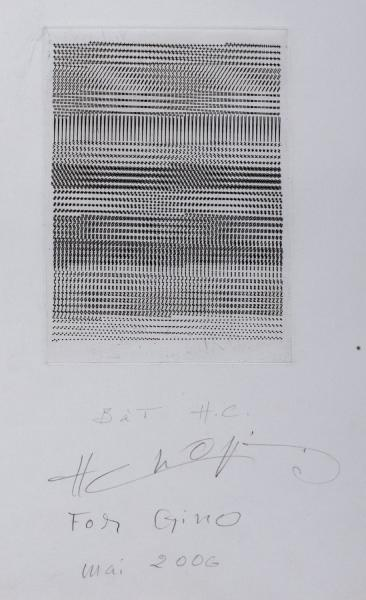 Henri Chopin (Paris 1922-Norfolk 2008)  - Composition, 2006 - etching, numbered H.C.  [...]