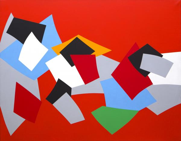 Marcel Christian Barbeau, Démarrage, 1994 - Acrylique sur toile / Acrylic on canvas [...]