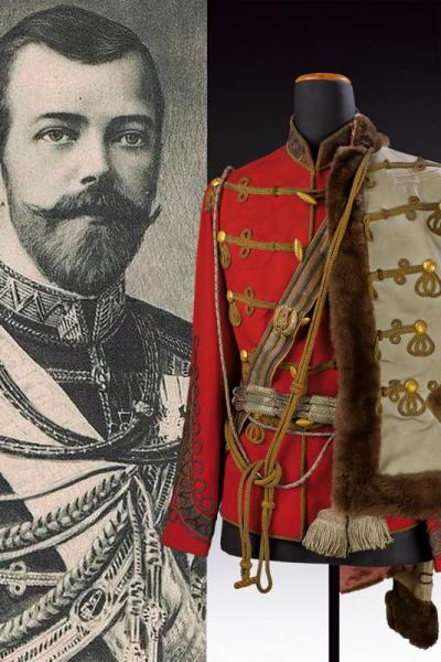Attila from the property of Tsarevich Nicholas II as commander of the Lifeguard [...]