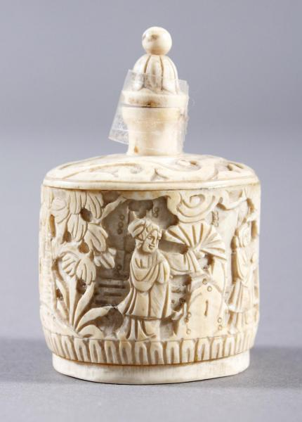 Elfenbein Snuffbottle, China um 1900