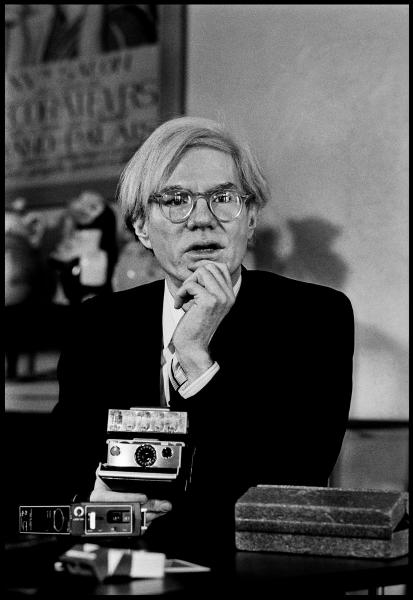Jean-Pierre LAFFONT (Né en 1935)  - Andy Warhol, New York, 1974  - Tirage [...]