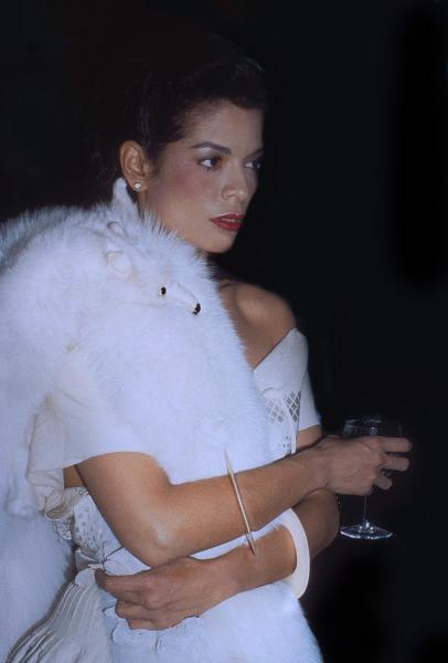 Rose HARTMAN (Née en 1937)  - BIANCA JAGGER.  - Private party, Halston's townhouse.  [...]