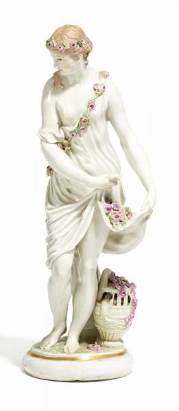 PORCELAIN ALLEGORY OF