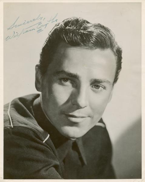 EYTHE WILLIAM: (1918-1957) American film Actor. Vintage signed 8 x 10 photograph by [...]
