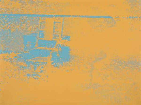 Warhol Andy 1928-1987  - Electric Chair  - 1971 - Serigrafie  - rückseitig signiert, [...]