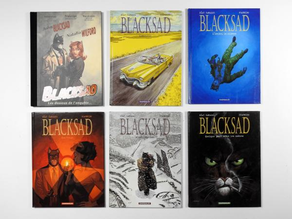 GUARNIDO Blacksad Tomes 1 à 5 en édition originale (tome 1 en réédition). On y [...]