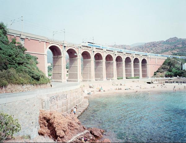 Massimo Vitali (1944)  - Antheor Viaduct, from the portfolio