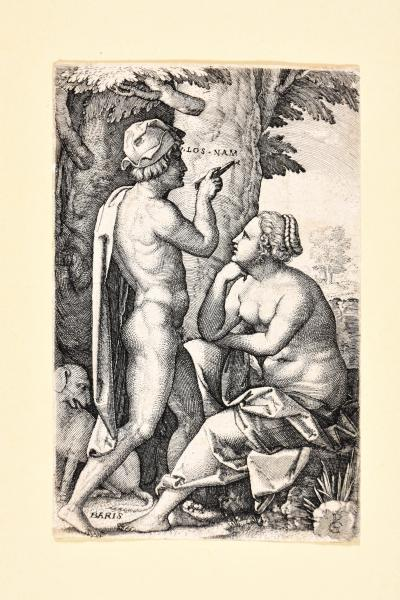 (German) - PENCZ, Georg 4 engravings with biblical and mythological subjects. [...]