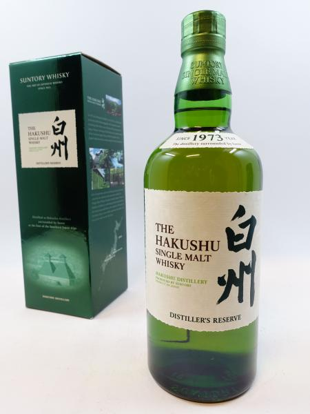 1 bouteille WHISKY THE HAKASHU Distiller's reserve. Japan Single Malt Whisky. Suntory [...]