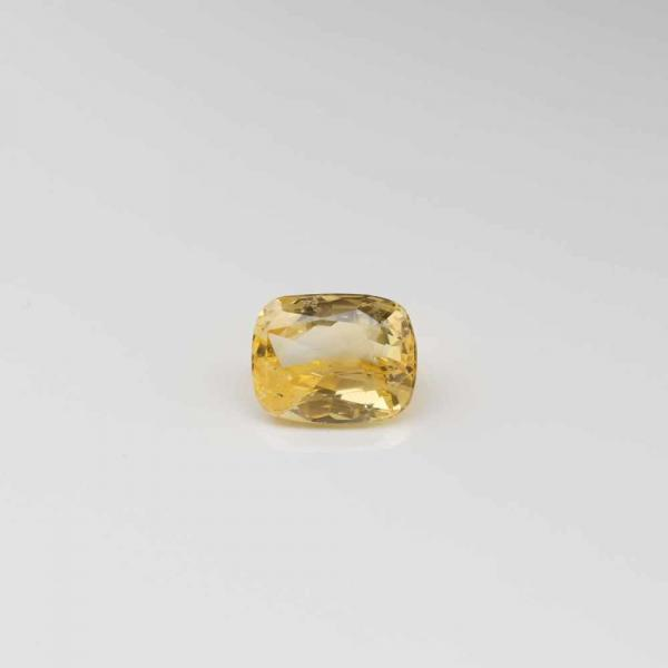 UNMOUNTED YELLOW SAPPHIRE, 7.903 CT